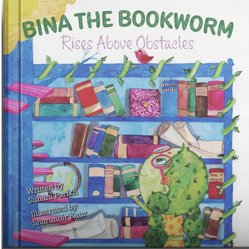 """""""Bina the Bookworm: Rises Above Obstacles"""""""