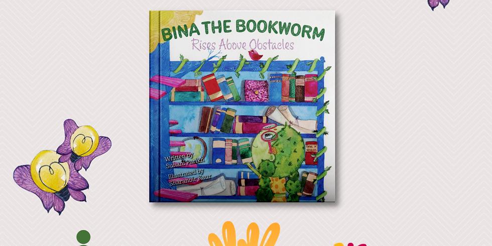 "Virtual Book Event: ""Bina the Bookworm"" w/ Edu-GIRLS  and Kulture Khazana"