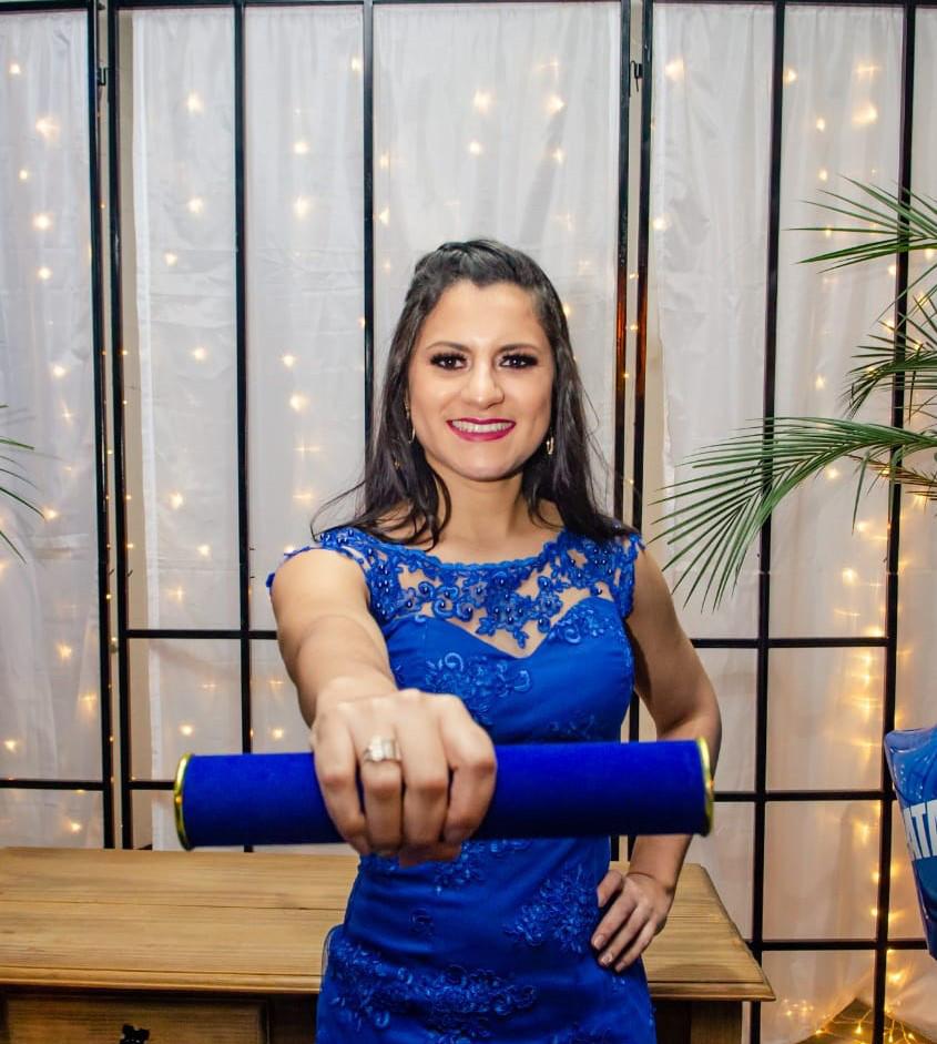 Formanda Natalia Camassalo