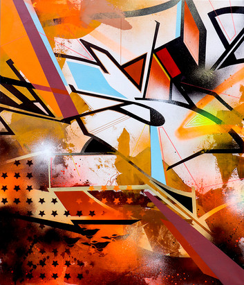 """SEN2 """"Graffiti en maron"""""""