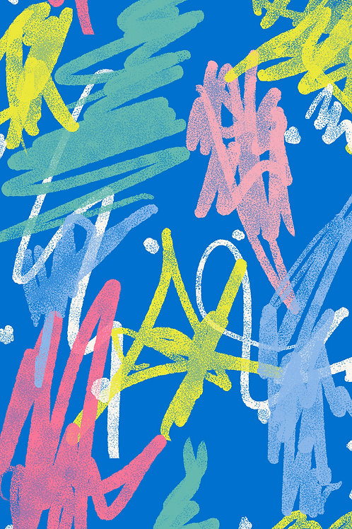 244 Abstract Scribble Chalk JCP