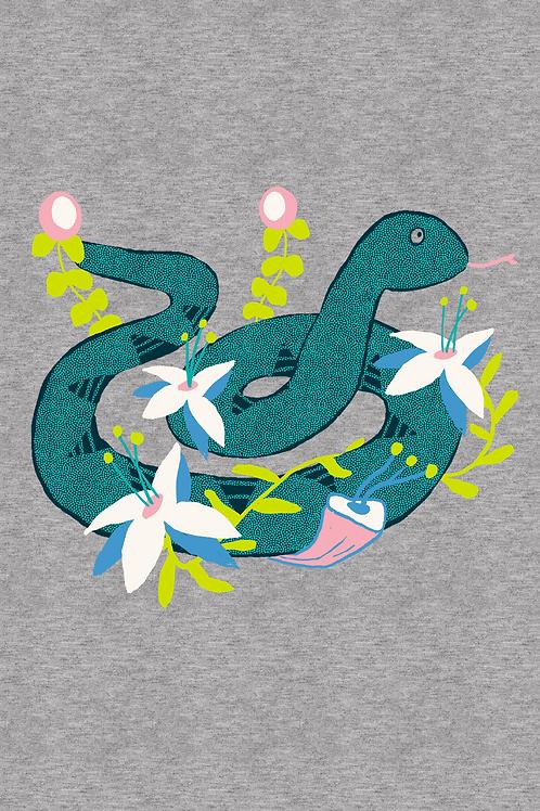 002 Critter Snake Floral