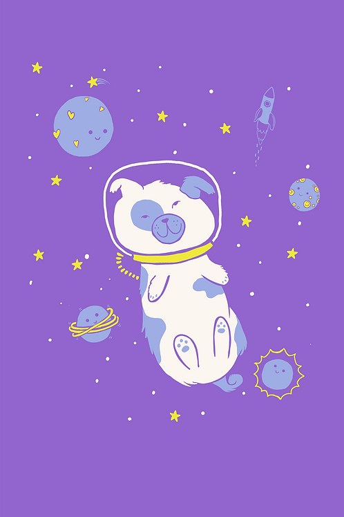 009 Critter Space Dog