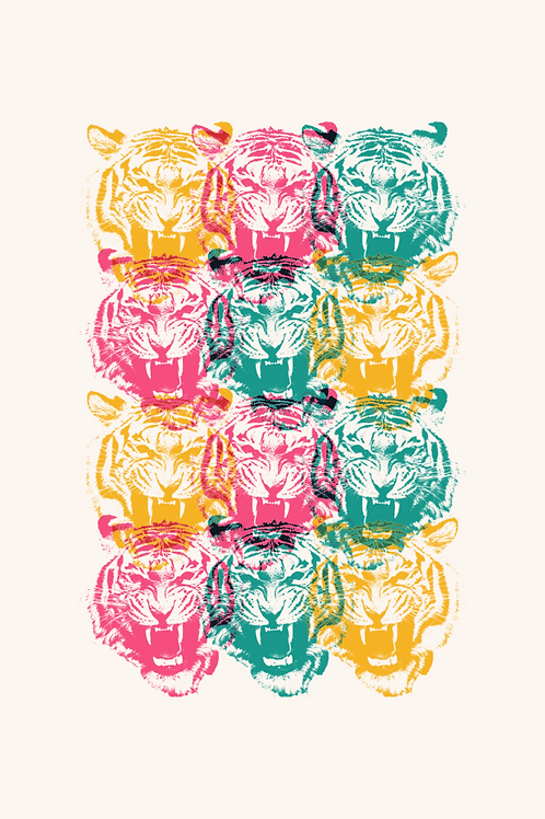 027 Animal Tiger Overlay