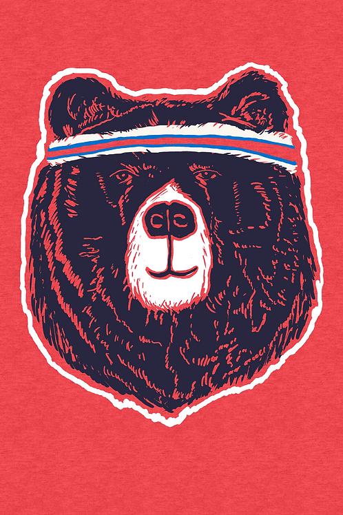 089 Critter Bear Head Band JCG