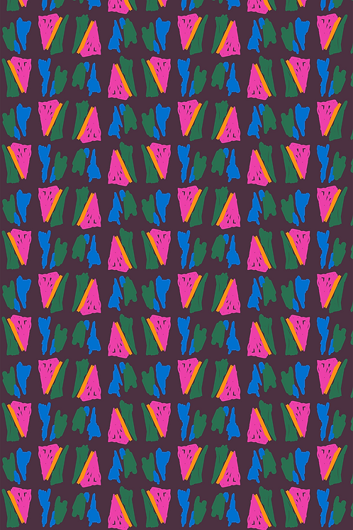 159 Abstract Melon Triangle JCP