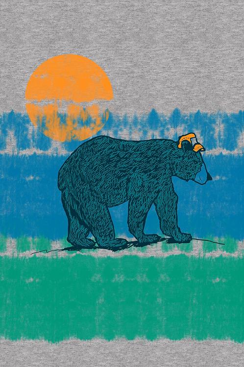 179 Critter Bear Dye Stripe JPG