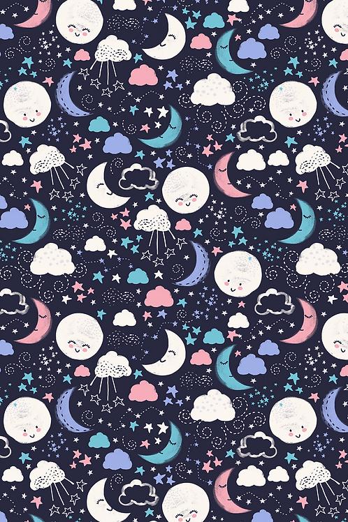 165 Novelty Smiling Moons ASP