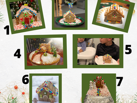 Vote for Your Favorite! Ho ho holiday gingerbread house.