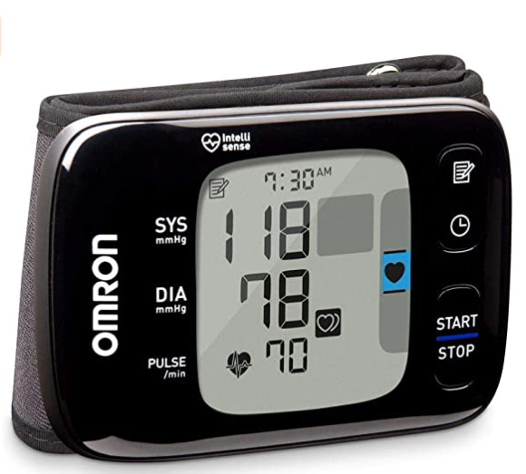 Wireless Wrist Blood Pressure Cuff