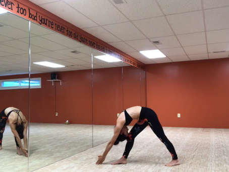 The Standing Separate Leg Head to Knee Pose