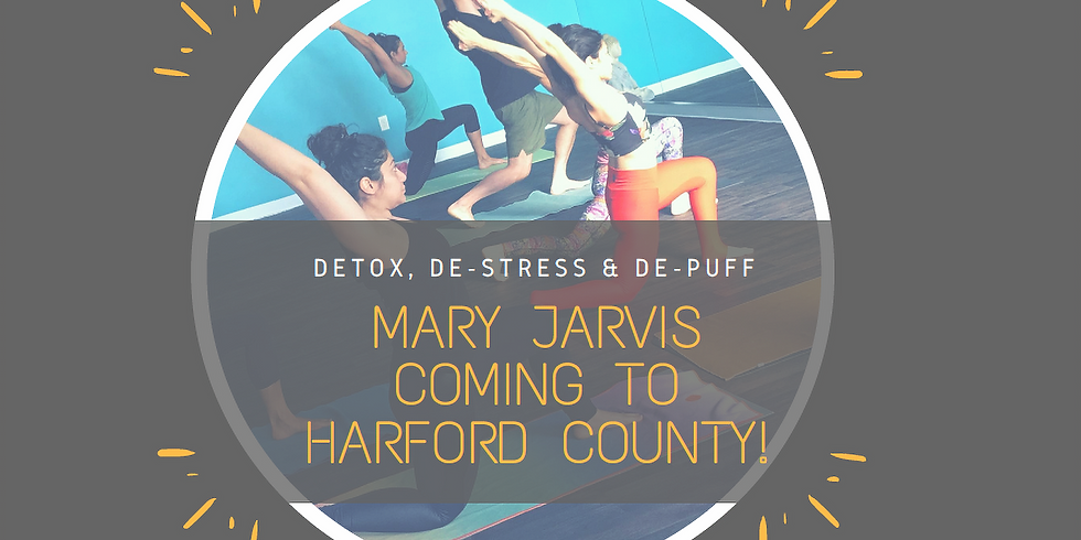 Mary Jarvis is Returning to True Yoga Harford