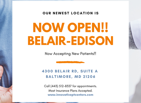 Maryland Based Physical Therapy Company Opens New Clinic in Baltimore.