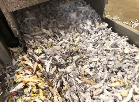 High Capacity Paper Shredding System for Texas