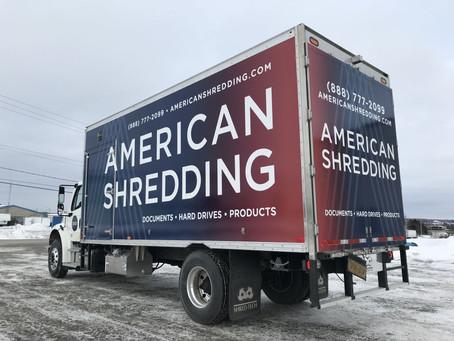 "American Shredding ""Zero-Touch"" Destruction"