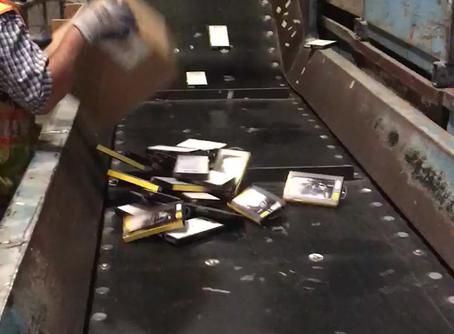Mobile Phone Accessories Destruction