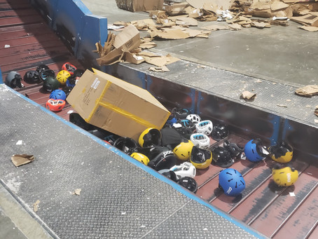 Destruction of Helmets for Sports Company