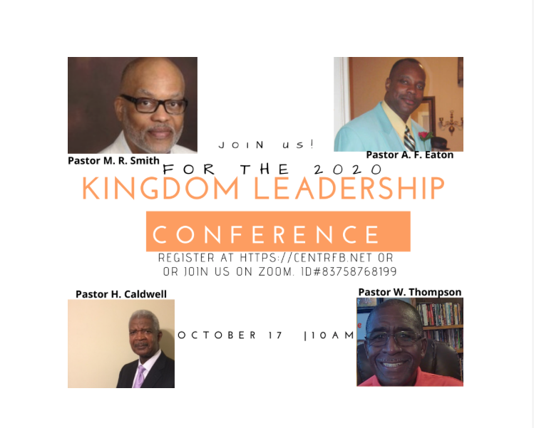 Kingdom Leadership Resurgence Flyer