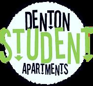 Denton Student Apartment Logo Neon edite