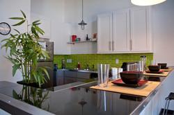 Denton Student Apartments Hanger interior kitchen