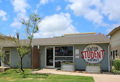 Denton Student Apartments Iconic Village Office