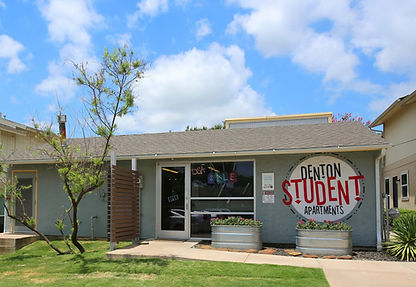 Denton Student Apartments Iconic Village Office