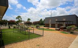 Denton Student Apartments Exterior Bark Park