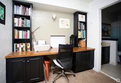Denton Student Apartments Interior Study area