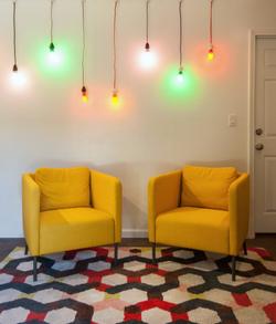 Denton Student Apartments Interior Living Room