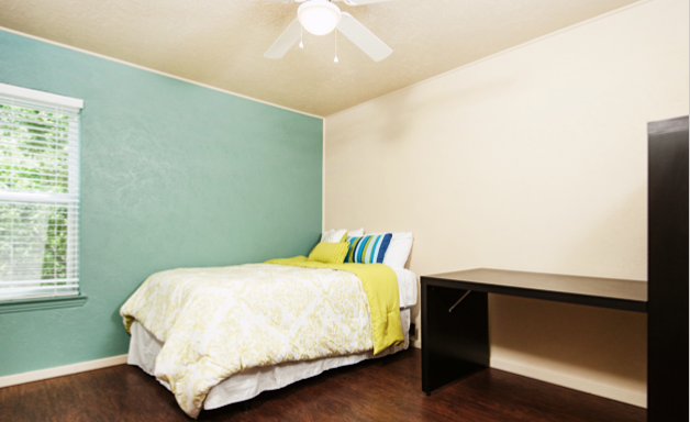 Denton Student Apartments Interior Bedroom