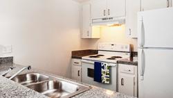 Denton Student Apartments Interior Kitchen