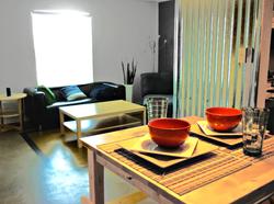 Denton Student Apartments Interior Dining room