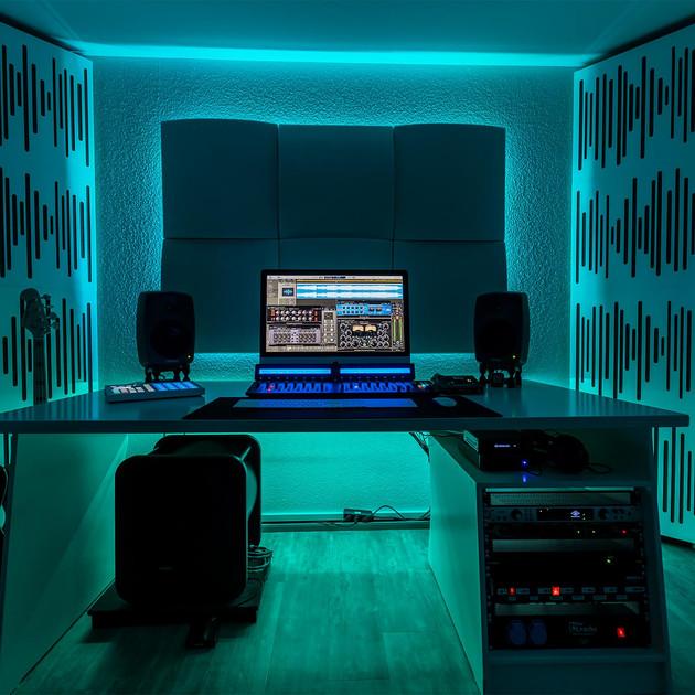Studio front.