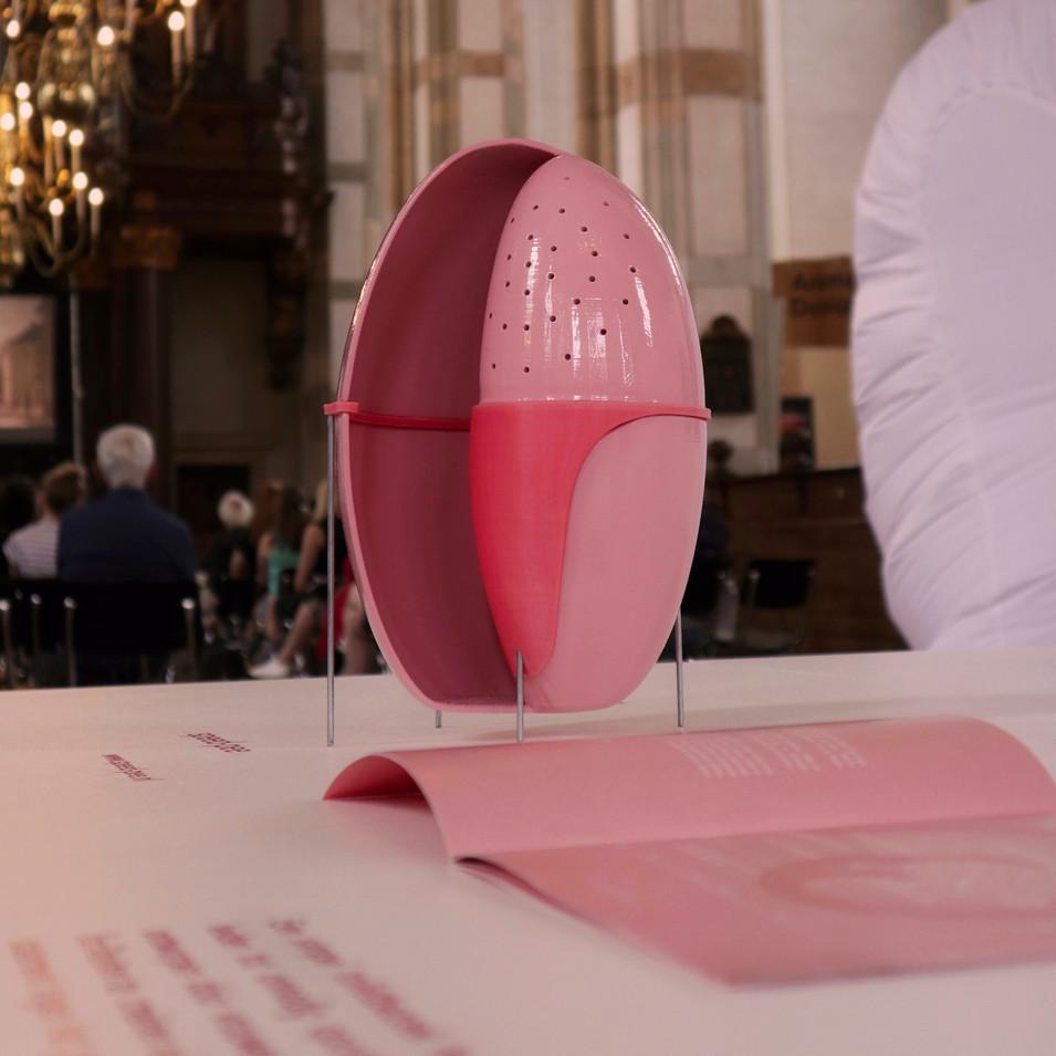 speed-pee expositie van Frederieke