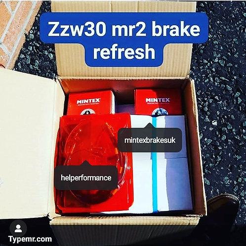 Mr2 Roadster ZZw30 Brake Package