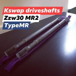 ZZw30 k20 driveshafts