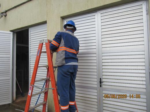 Limpeza, higienização e manutenção civil  em usinas hidrelétricas e termoelétricas
