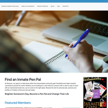 Penacon - Pen Pal Website