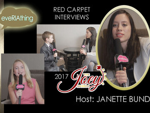 2017 Highlights - Joey Awards Red Carpet Interviews Hosted by Janette Bundic