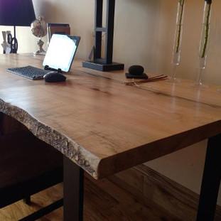 011 - Maple Live Edge Desk