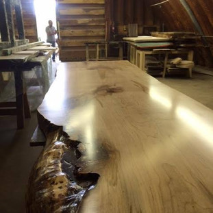 15- Maple Table with Clear Coat finish