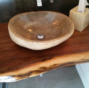 011A - Black Walnut Vanity