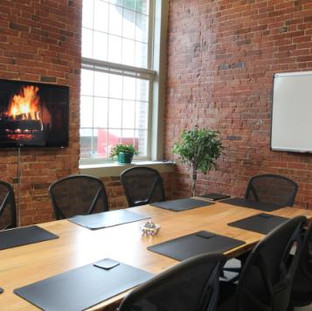 13 - Maple Live Edge Boardroom Table