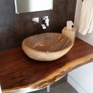 011B - Black Walnut Vanity