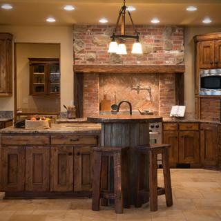 1- Custom Cabinets, Stools, Table