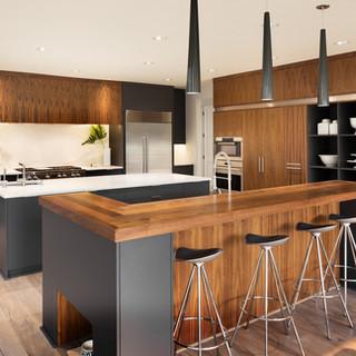 3 - Black Walnut Countertop, Storage, Accents