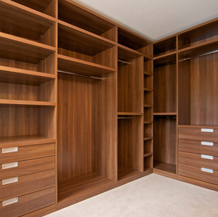 9- Custom Walk-in Closet