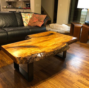 15 - SPALTED MAPLE COFFEE TABLE
