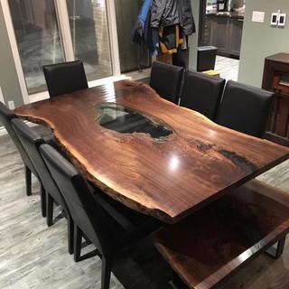 7 - Specialty Black Walnut Table