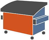 Commercial Dumpster Icon